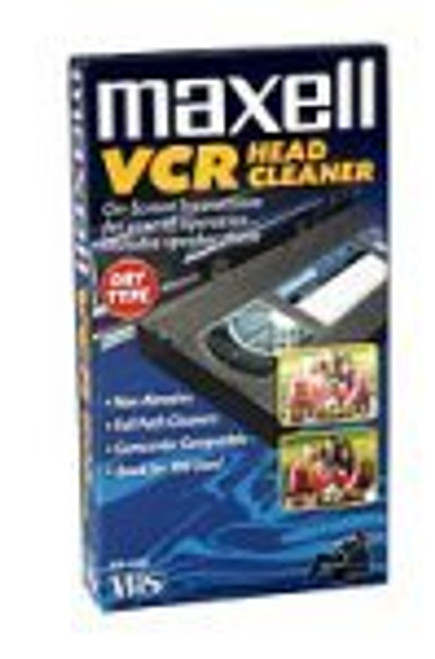 Maxell VP-100 VHS Dry Tape Video Head Cleaner