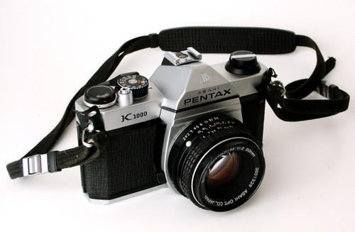 Pentax K1000 Camera with 50mm Lens (Asahi Model)