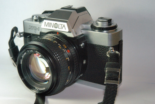 Minolta XG-1 35mm Camera with 50mm lens