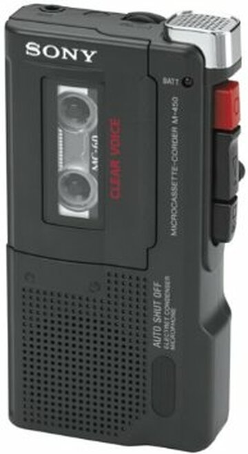 Sony M-450 MicroCassette Recorder