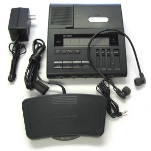 Sony Bm-890 Microcassette Transcription Machine 2-speeds