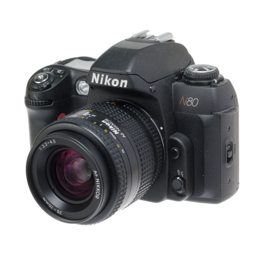 Nikon N80 35mm SLR Film Camera