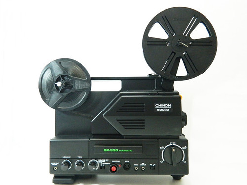 Chinon SP-330MV Super 8mm projector with Sound