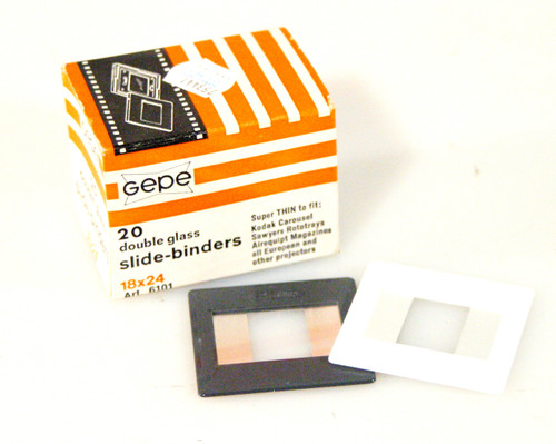 Gepe Double Glass Slide Binders/Mounts 18X24