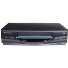 panasonic pv v4520 4 head hi fi vcr rh porterelectronics com Panasonic Studio Camera Panasonic Palmcorder VHS-C Tapes