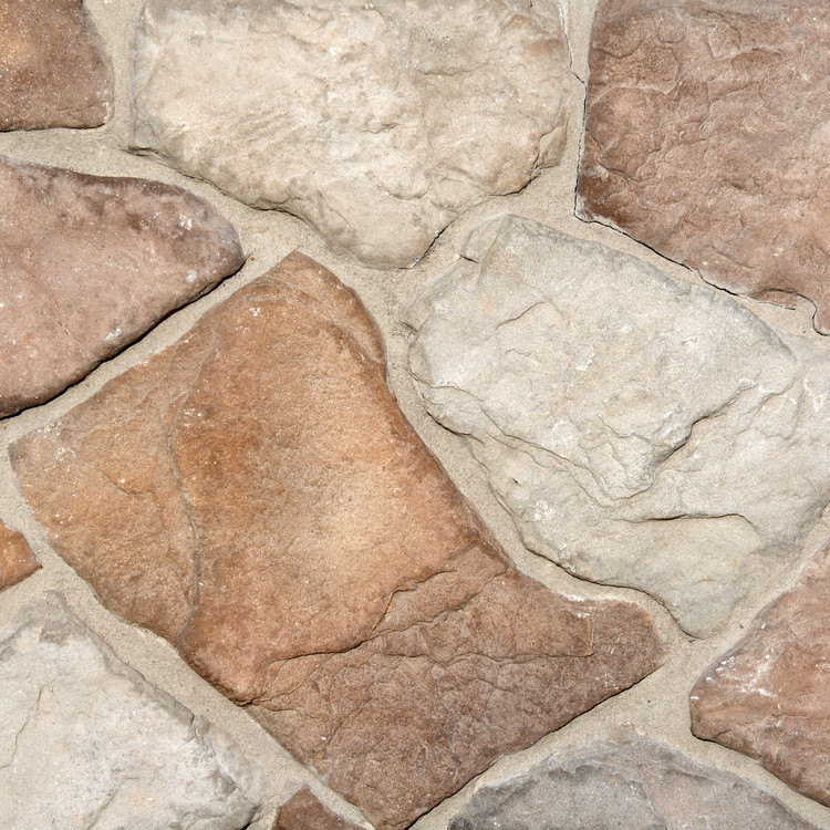 Photograph of Washington based Superior Stone MFG's Fieldstone in the Alpine colorway.
