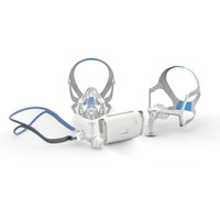 ResMed AirMini bedside starter kit with AirFit mask