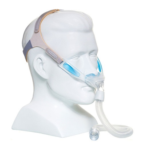 Philips Respironics Nuance Nasal Pillows Mask System with Gel Frame