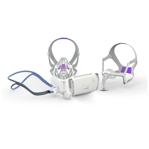 ResMed AirMini bedside starter kit with AirFit for Her mask