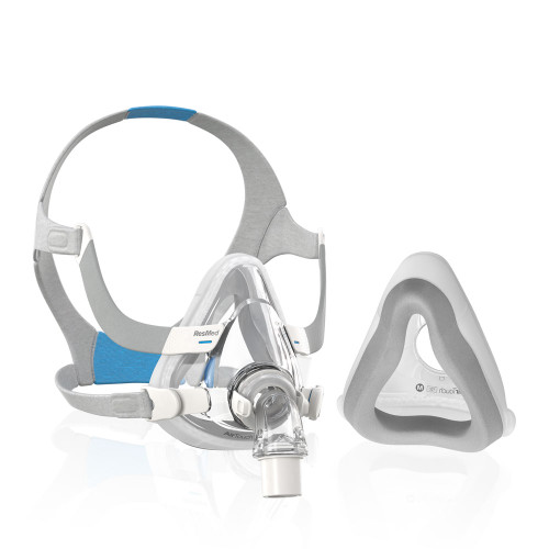 ResMed AirTouch Full Face CPAP mask with innovative foam cushion