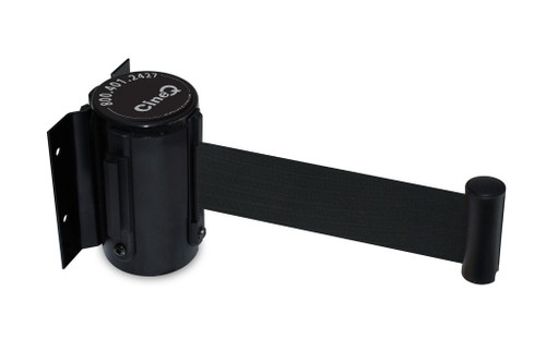 CineQ Wall Mounted Barrier With Retractable Belt