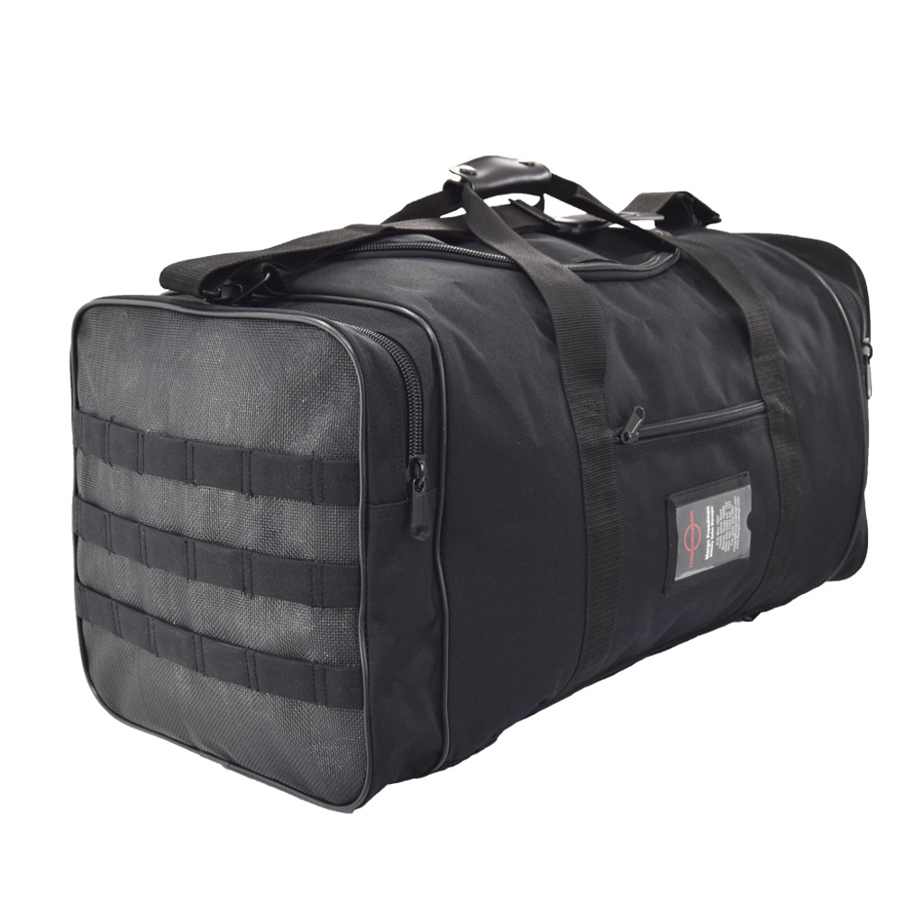 Great to use as a military duffel bag, travel backpack, or gym bag