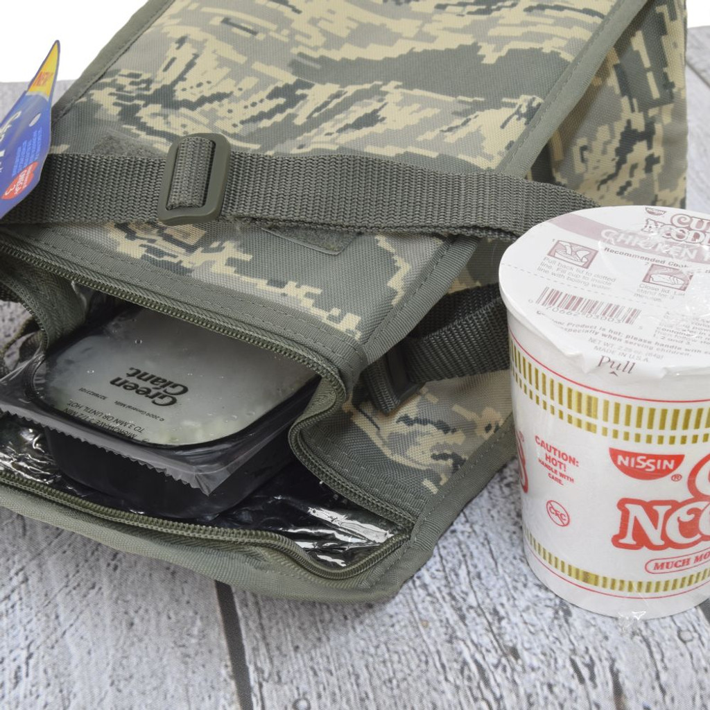 Lightly insulated - put this lunch pack in the refrigerator or include a small ice pack to keep your lunch fresh & crisp
