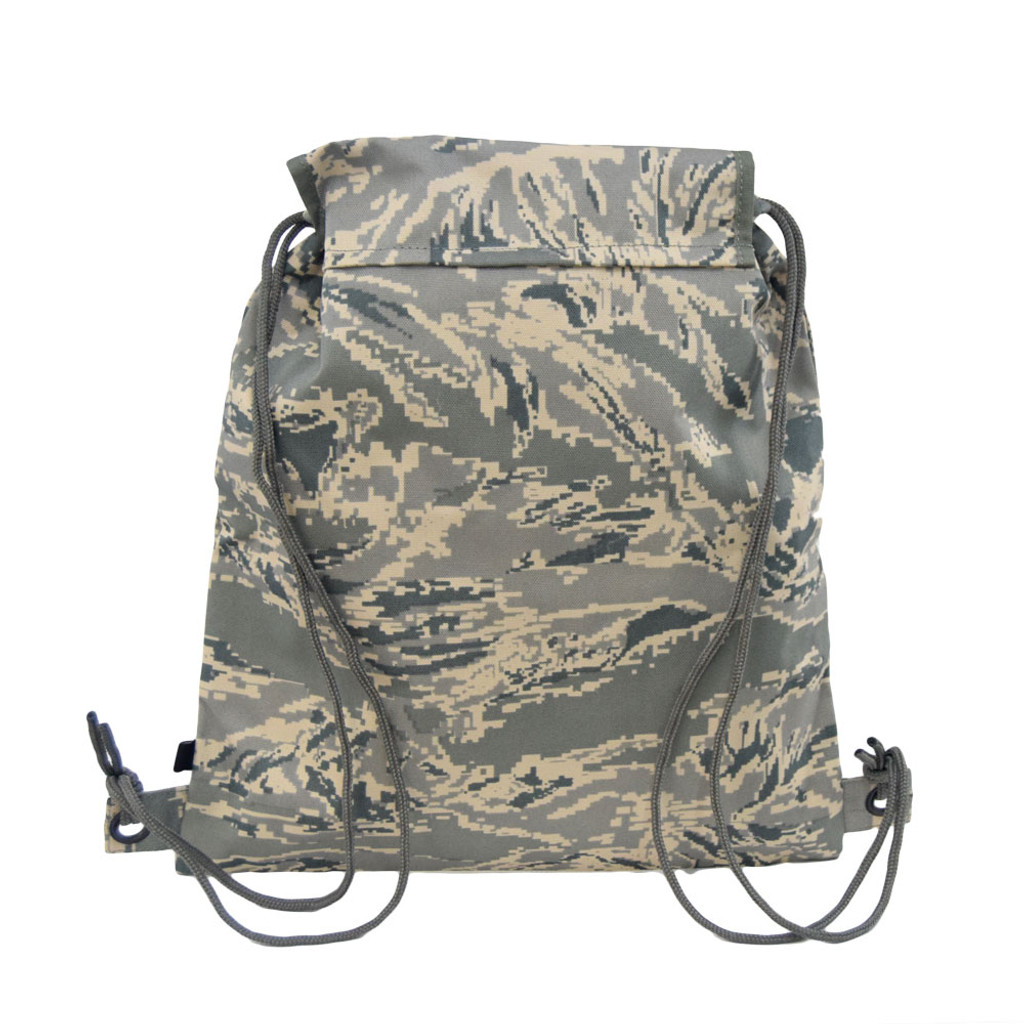 Large drawstring compartment