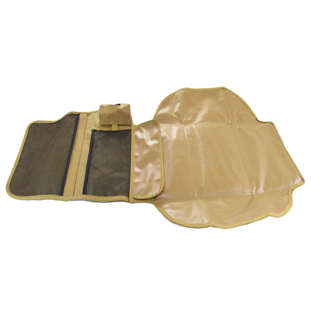 Removable fold out changing pad
