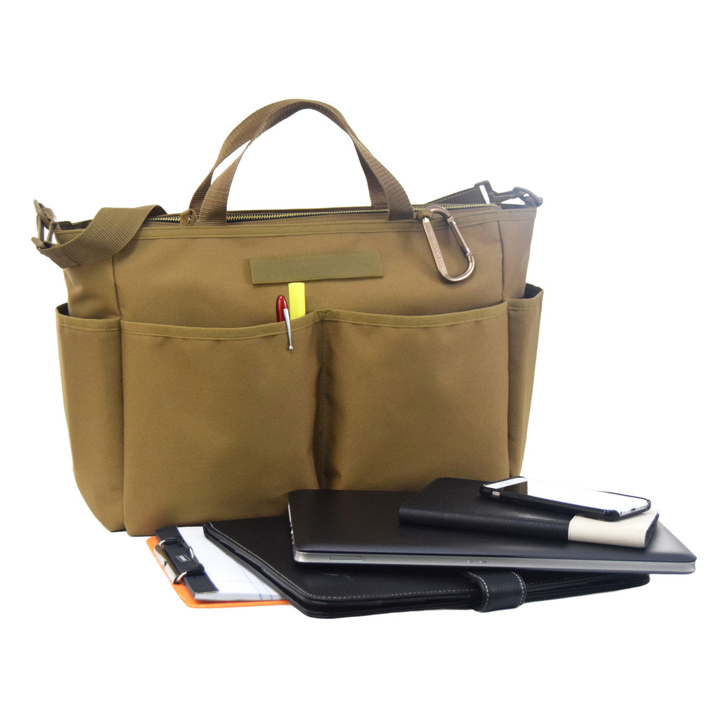 Does double duty as a business tote!
