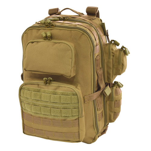 Brazos Concealed Carry Backpack in Coyote Brown