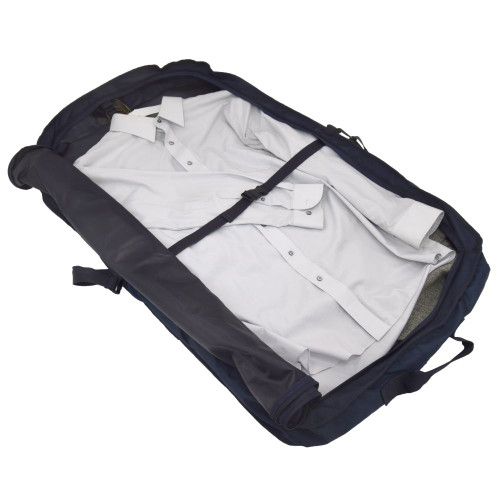 Easily accommodates up to four suits