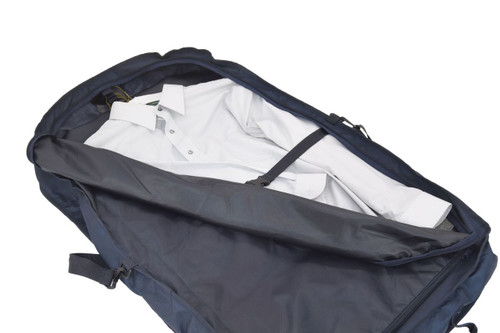 Full-length zipper for easy access