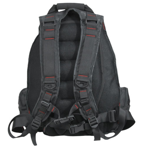 Backpack straps with webbing & D-rings for attachments