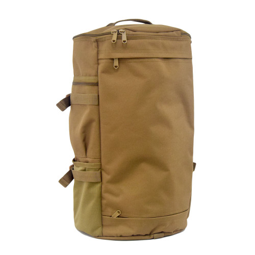 Backside pocket to stow away backpack straps