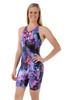 Ladies Knee Length Ink One Piece Chlorine Resistant Swimsuit