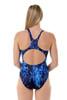 Ladies Sport Back Aquatic One Piece Chlorine Resistant Swimsuit