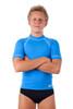 Unisex Adults Short Sleeve Rapid Chlorine Resistant Wetshirt