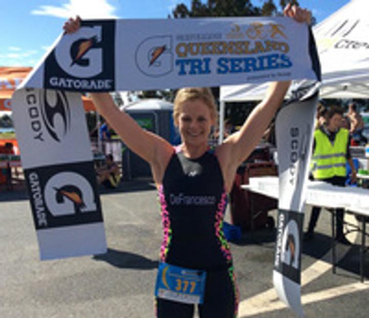 Danielle WINS Gatorade Queensland Triathlon Series