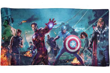 Avengers Towel, Microfibre material