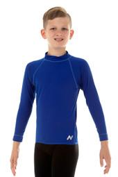 Unisex Childrens Long Sleeve Atlantic Chlorine Resistant Wetshirt
