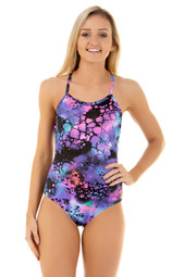 Ladies One Piece Swimwear - Front View