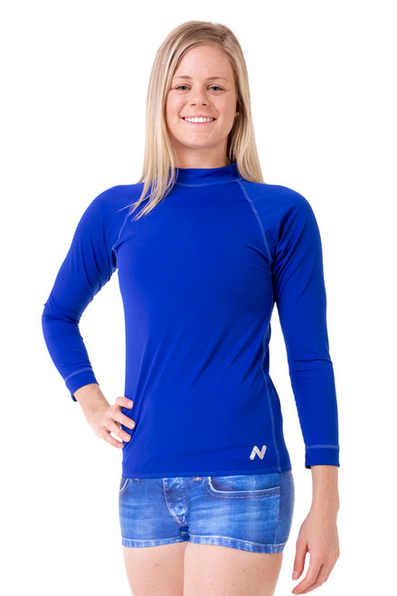 Adults Unisex Long Sleeve Wetshirt - Side View