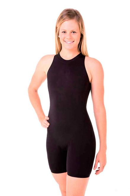 Ladies Legged Katzoot Swimsuit - Side View