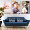 $69 for 3x 40x50cm | A personalised Three-Panel canvas wall display | Redeemable online ($387 Value)