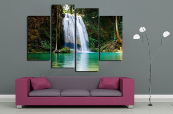 Modern Wall Art Decor Natural Water Scenery Art Photo Prints