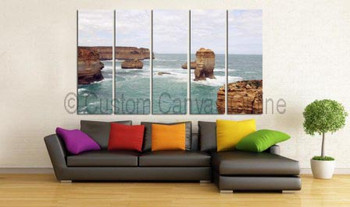 Beach scenes on canvas prints sydney free shipping