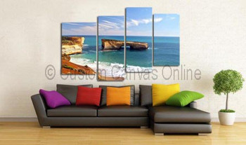 beach pictures on canvas art prints au