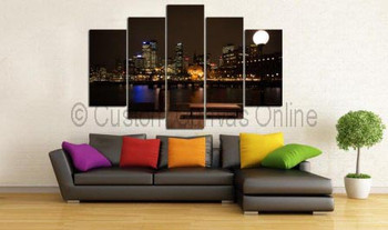 Beautiful canvas art prints photo printing sydney night