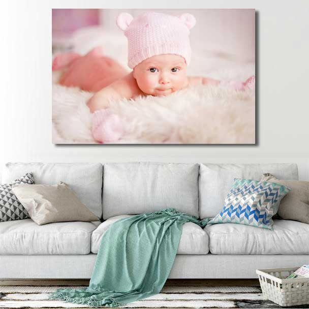 Turn your lovely image into canvas