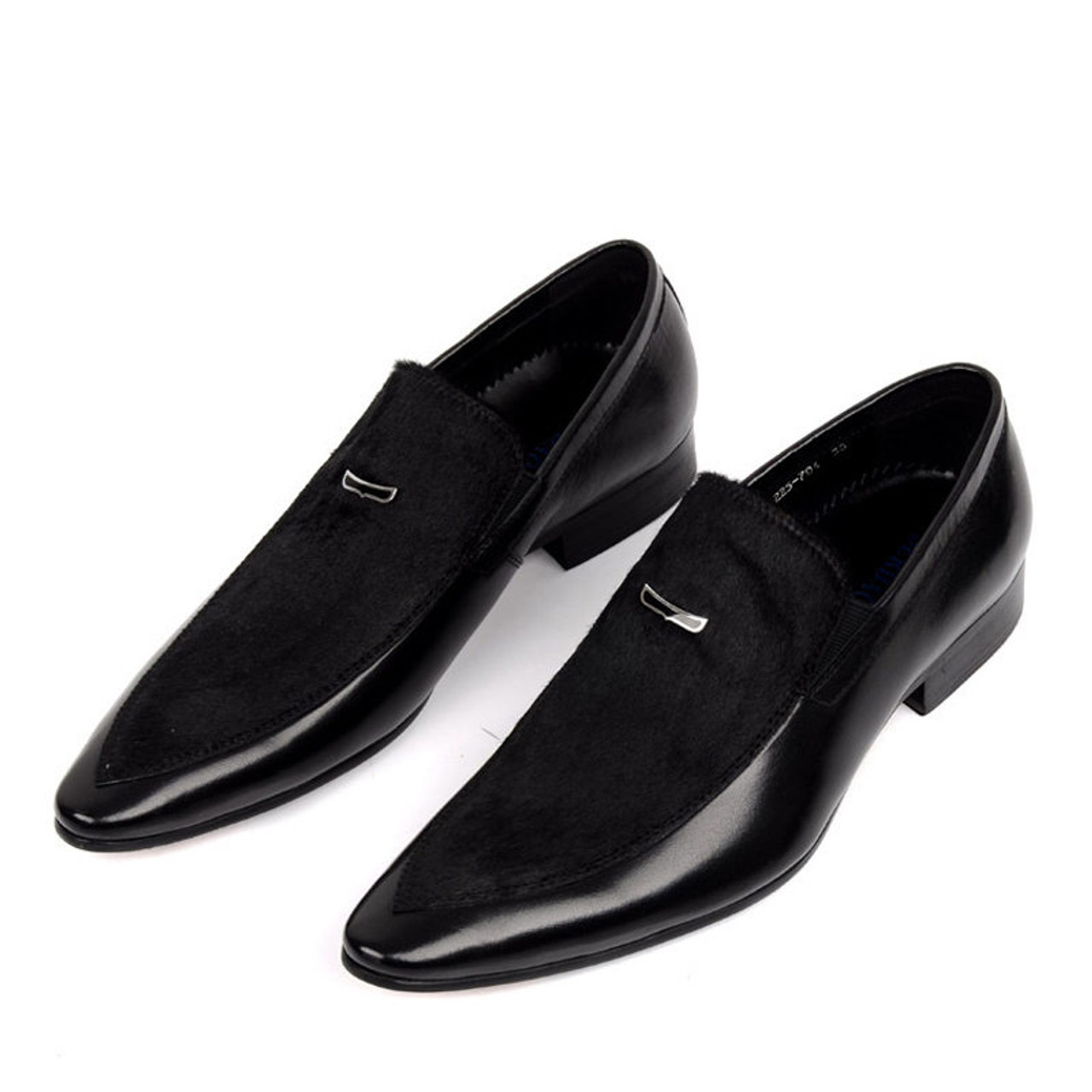 mens black dress shoes mens slip on dress shoes