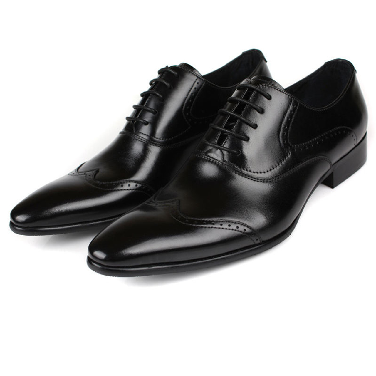 mens black brogue shoes sale online fashion black oxford