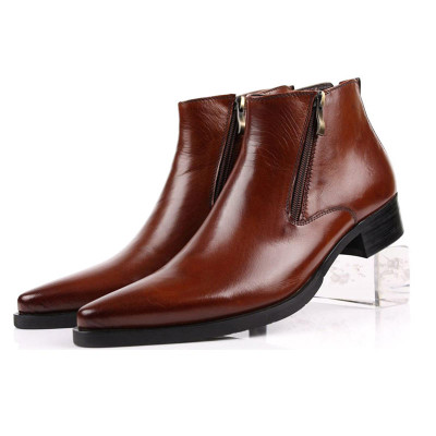 Men boots brown