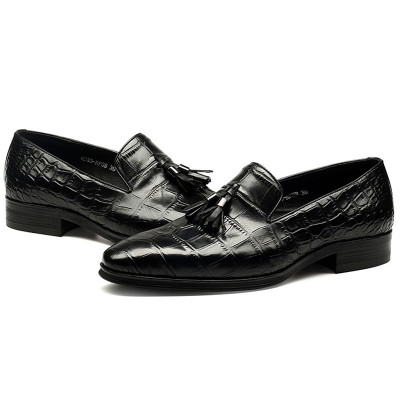 Tassel shoes mens