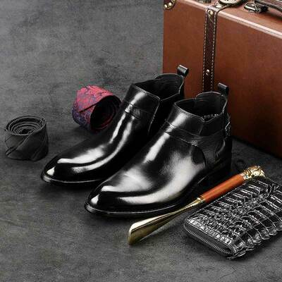 Nice mens boots black