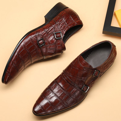 Mens buckle shoes
