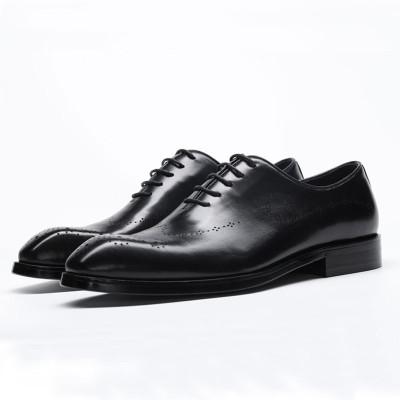 Mens smart shoes black