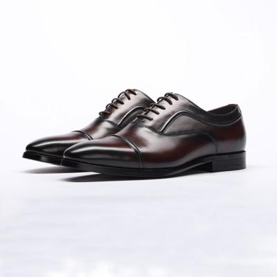 Cap toe dress shoes