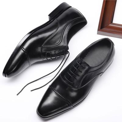 Male dress shoes black