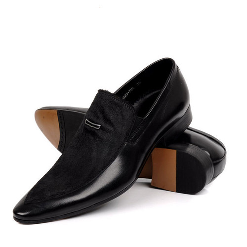 Mens Black Dress Shoes | Mens Slip on Dress Shoes
